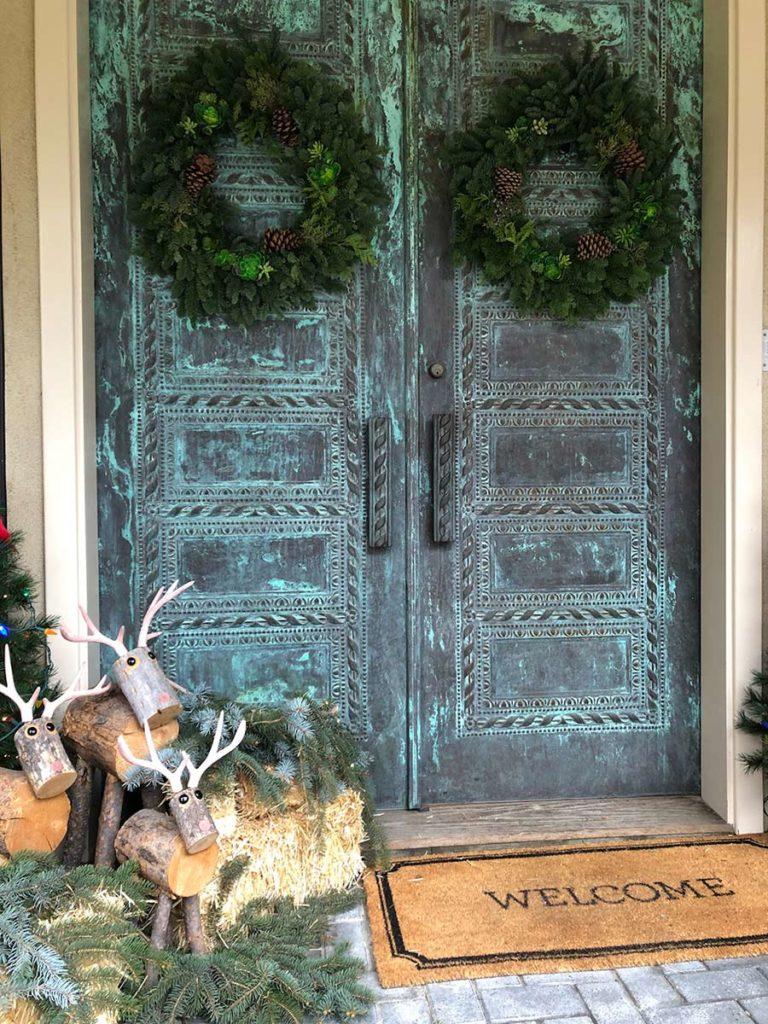 JanLar 28 inch mixed wreaths